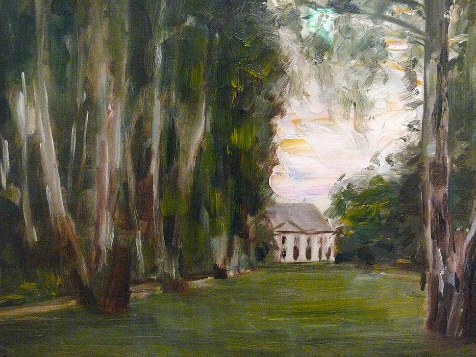 famous painting Villa of Max Liebermann