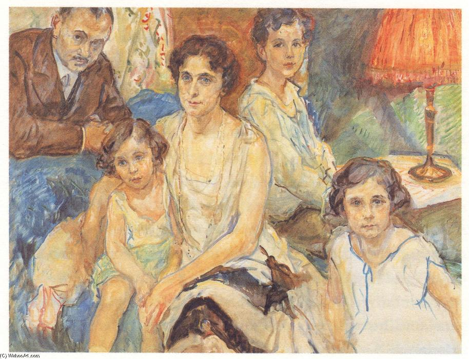 famous painting The Family Doctor János Plesch of Max Slevogt