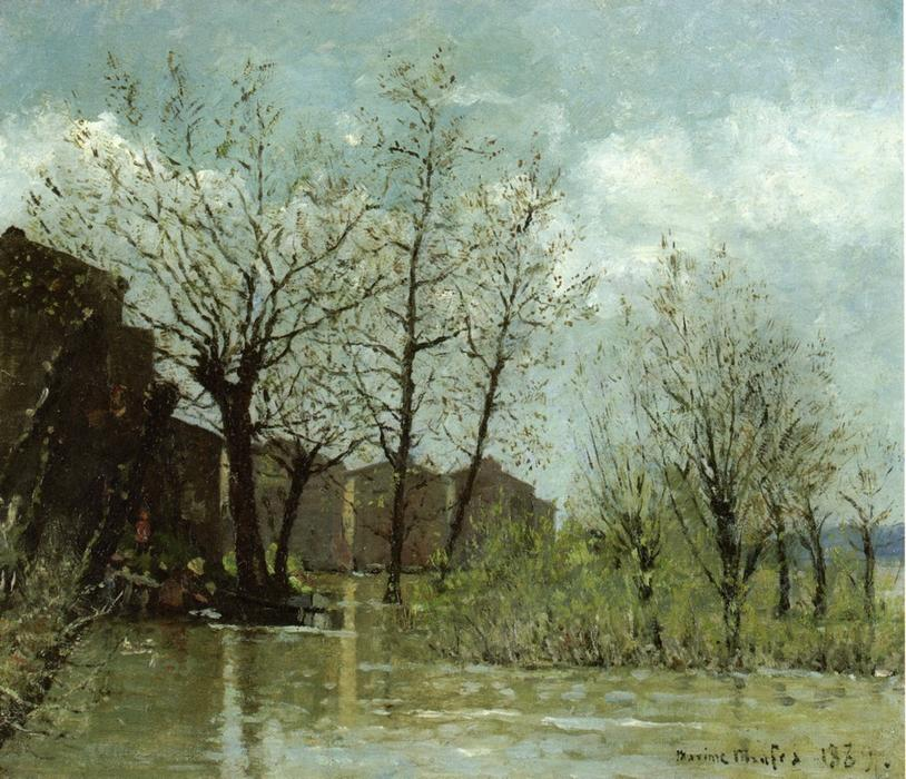 famous painting Flood of Maxime Maufra