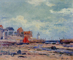 Maxime Emile Louis Maufra - At Low Tide