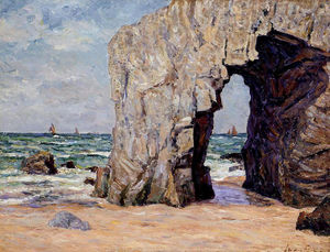 Maxime Emile Louis Maufra - The Ark of Port Blanc, the Isle of Presq Quiberon