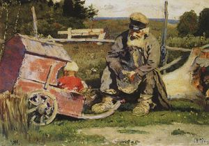 Mikhail Nesterov - Old and young