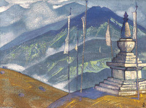 Nicholas Roerich - Waves of fog
