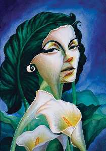 Octavio Ocampo - Woman of substance