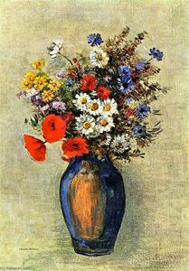 Odilon Redon - Vase of Flowers