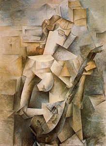 Pablo Picasso - Girl with mandolin (Fanny Tellier)
