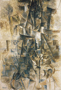 Pablo Picasso - The Piano Accordionist