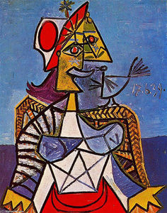 Pablo Picasso - Seated woman (12)
