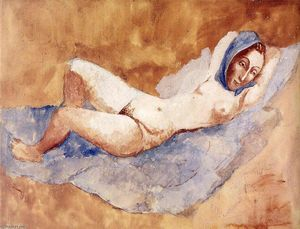 Pablo Picasso - Reclining Nude (Fernande)