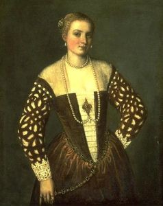 Paolo Veronese - Portrait of a Lady