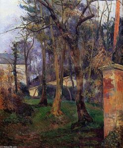 Paul Gauguin - Abandoned garden in Rouen