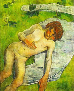 Paul Gauguin - A breton boy
