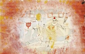 Paul Klee - Bad band
