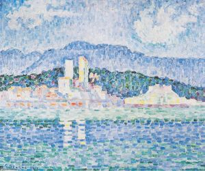 Paul Signac - Antibes, thunderstorms