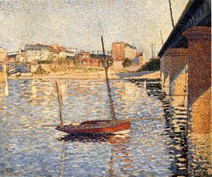 Paul Signac - Le Clipper, Asnieres