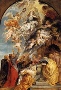 Peter Paul Rubens - The Assumption of Mary