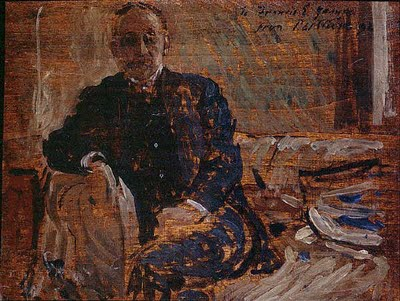 famous painting Portrait of Francis Edward James of Philip Wilson Steer