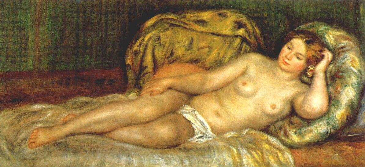 nude famous painting