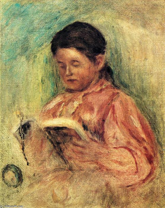 famous painting Woman Reading of Pierre-Auguste Renoir