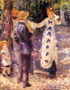 Pierre-Auguste Renoir - The Swing