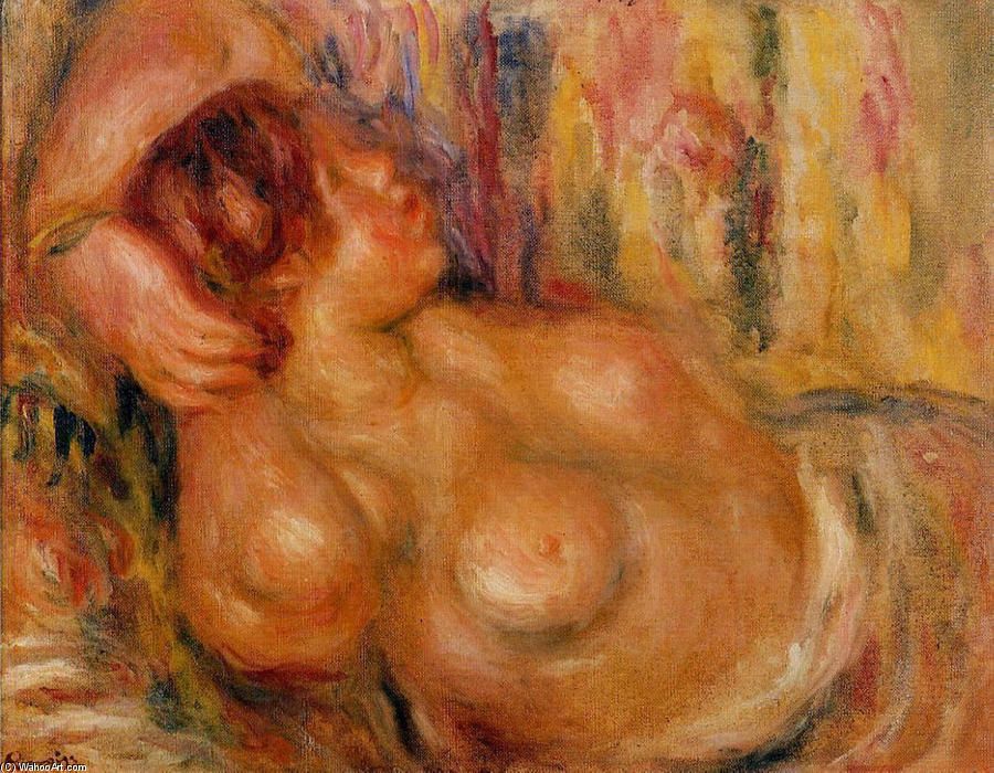famous painting Woman At the Chest of Pierre-Auguste Renoir