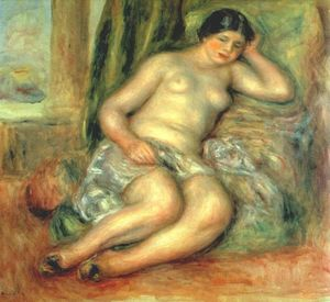 Pierre-Auguste Renoir - Sleeping Odalisque (Odalisque with Babouches)