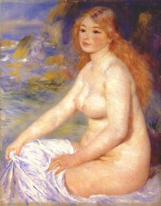 Pierre-Auguste Renoir - Blonde bather
