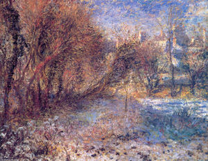 Pierre-Auguste Renoir - Landscape with Snow