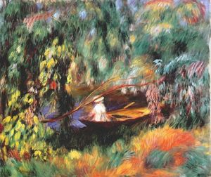 Pierre-Auguste Renoir - The skiff