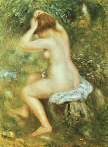 Pierre-Auguste Renoir - Bather is Styling
