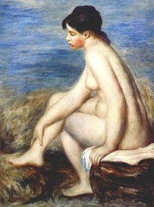 Pierre-Auguste Renoir - Bather