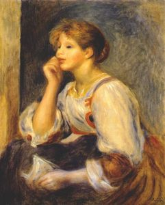 Pierre-Auguste Renoir - Girl with a letter
