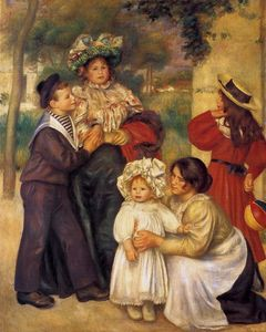 Pierre-Auguste Renoir - The Artist`s Family
