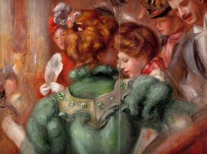 Pierre-Auguste Renoir - A Box in the Theater des Varietes