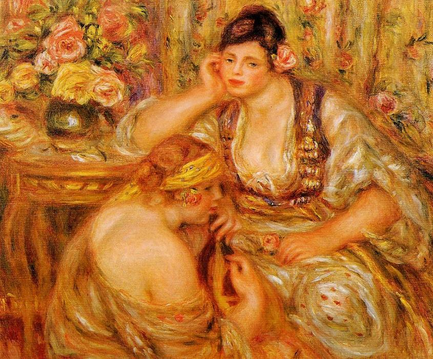 famous painting The Agreement of Pierre-Auguste Renoir