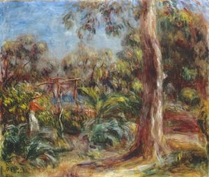 Pierre-Auguste Renoir - The large tree