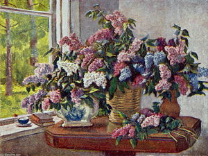Pyotr Konchalovsky - Lilacs by the window