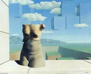 Rene Magritte - The marches of summer