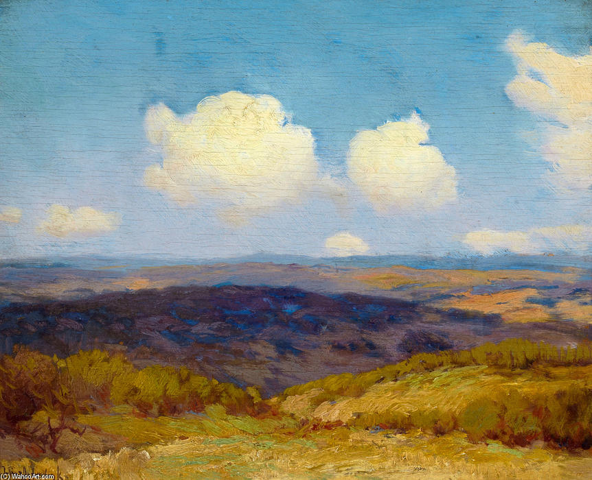 famous painting Flying Shadows of Robert Julian Onderdonk