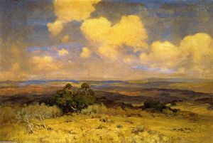 Robert Julian Onderdonk - Sunlight and Shadow