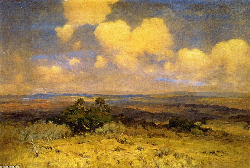 famous painting Sunlight and Shadow of Robert Julian Onderdonk