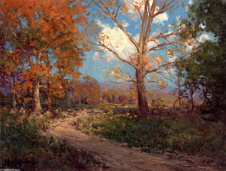 famous painting October Sunlight of Robert Julian Onderdonk