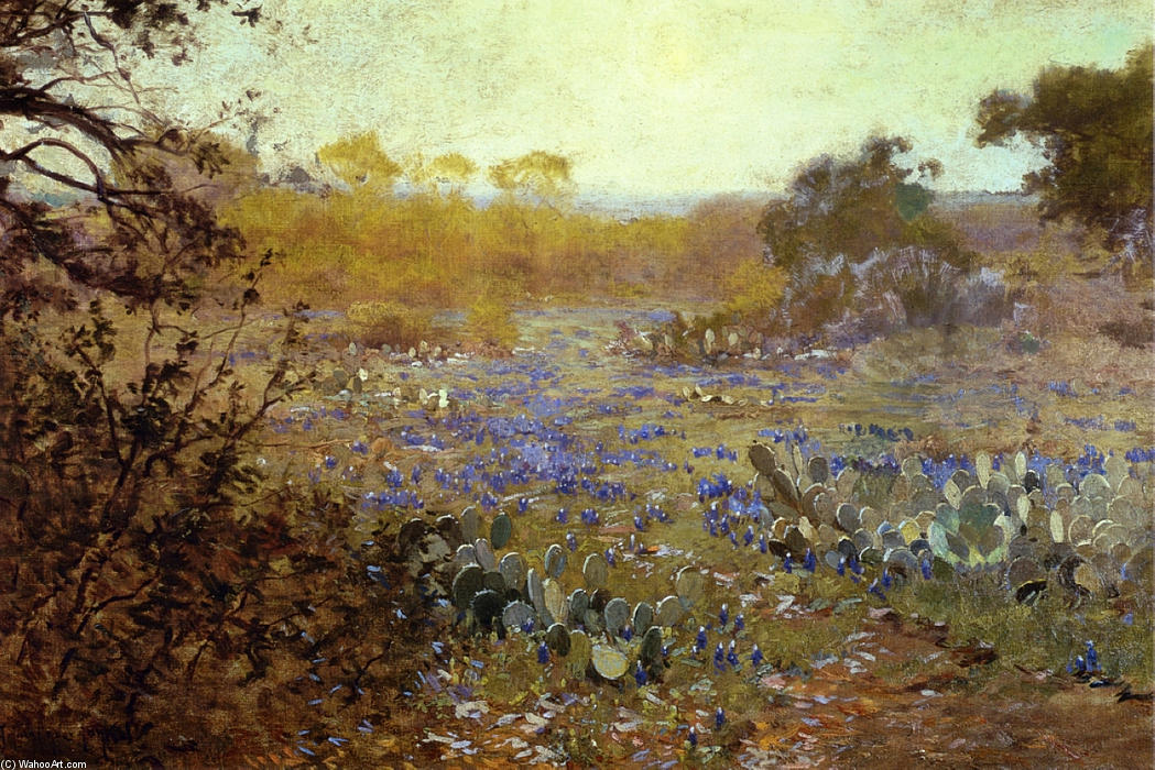 famous painting Spring Morning of Robert Julian Onderdonk