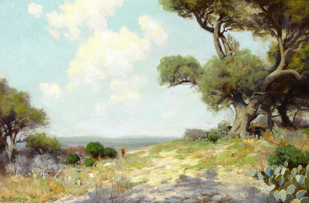 famous painting In the Hills - Southwest Texas of Robert Julian Onderdonk