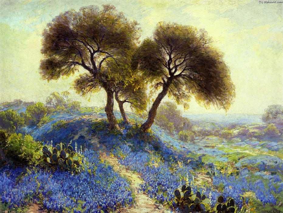 famous painting A Spring Morning of Robert Julian Onderdonk