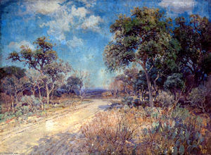 Robert Julian Onderdonk - Road to the Hills