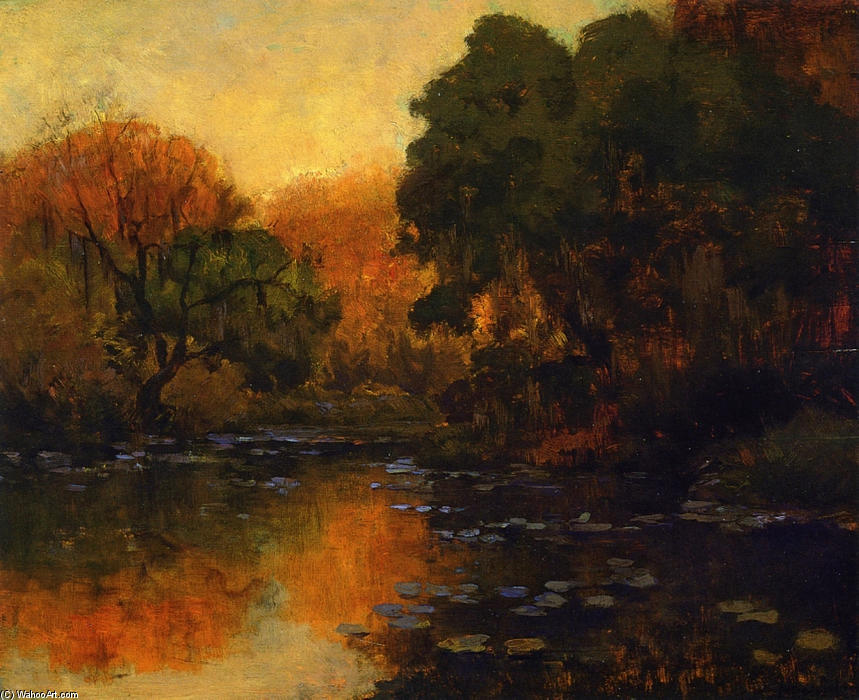 famous painting San Antonio River of Robert Julian Onderdonk