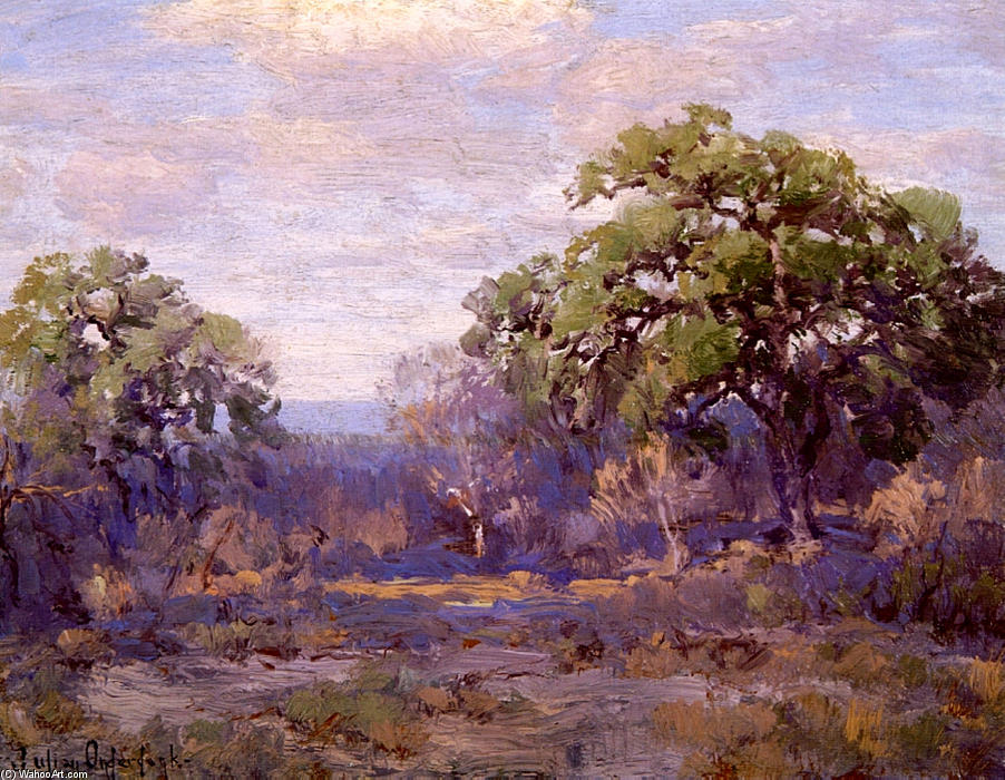famous painting Brush Country Landscape of Robert Julian Onderdonk