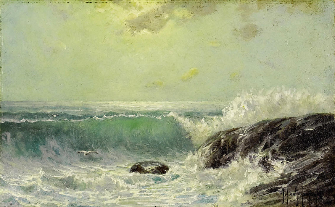 famous painting Crashing Surf of Robert Julian Onderdonk