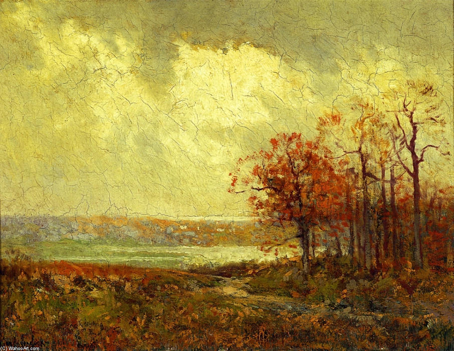 famous painting Fall Landscape of Robert Julian Onderdonk